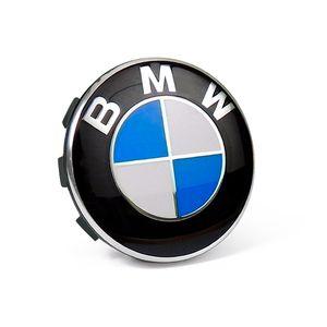 Calota-Centro-Roda-Original-BMW-Emblema-Azul-58mm-A