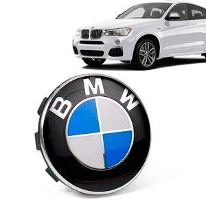 Calota-Centro-Roda-Original-BMW-X4-2019--Emblema-Azul-A