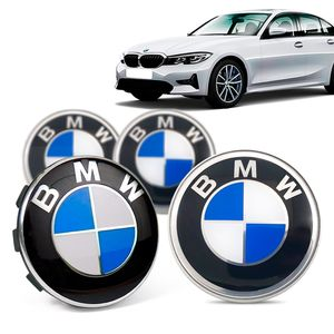Jogo-4-Calota-Centro-Roda-Original-BMW-Serie-3-2019--Emblema-Azul-A