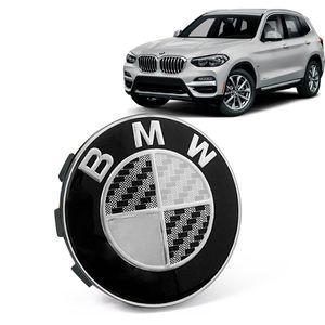 Calota-Centro-Roda-Original-BMW-X3-2019--Emblema-Preto-A