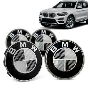Jogo-4-Calota-Centro-Roda-Original-BMW-X3-2019--Emblema-Preto-A