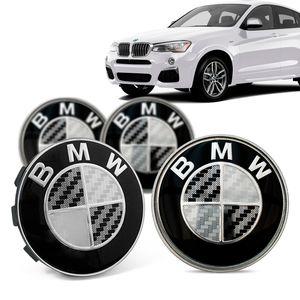 Jogo-4-Calota-Centro-Roda-Original-BMW-X4-2019--Emblema-Preto-A