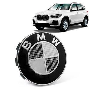 Calota-Centro-Roda-Original-BMW-X5-2019--Emblema-Preto-A