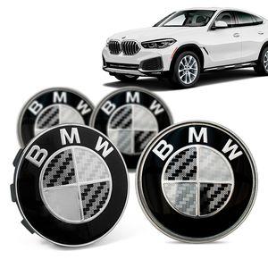Jogo-4-Calota-Centro-Roda-Original-BMW-X6-2020--Emblema-Preto-A