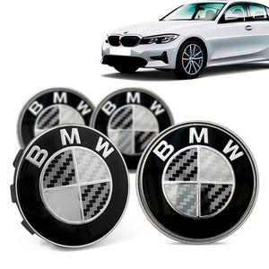 Jogo-4-Calota-Centro-Roda-Original-BMW-Serie-3-2019--Emblema-Preto-A