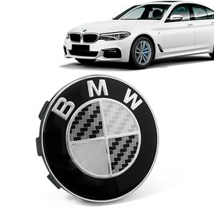 Calota-Centro-Roda-Original-BMW-Serie-5-2019--Emblema-Preto-A