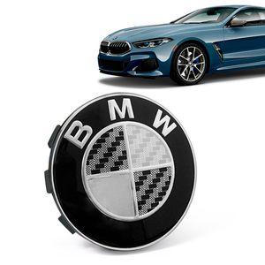 Calota-Centro-Roda-Original-BMW-Serie-8-2019--Emblema-Preto-A