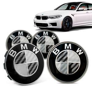 Jogo-4-Calota-Centro-Roda-Original-BMW-M5-2019--Emblema-Preto-A
