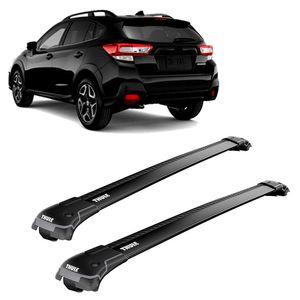 Rack-Teto-Bagageiro-Thule-Wingbar-Subaru-XV-2017--Longarinas-Preta-9585B-01