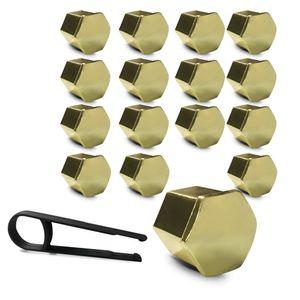 Kit-Capa-de-Parafuso-Sextavado-Chave-17-Honda-16-pecas-Dourada-A