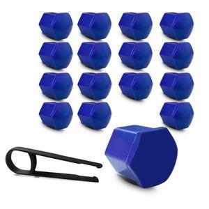 Kit-Capa-de-Parafuso-Sextavado-Chave-17-Mini-Cooper-16-pecas-Azul-A