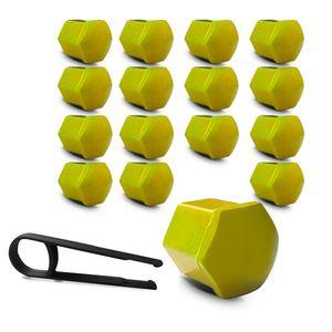 Kit-Capa-de-Parafuso-Sextavado-Chave-17-Mini-Cooper-16-pecas-Amarela-A