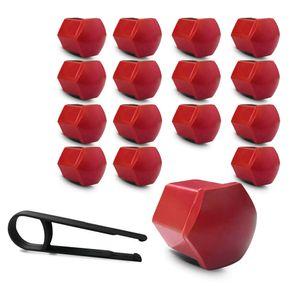Kit-Capa-de-Parafuso-Sextavado-Chave-17-Mini-Cooper-16-pecas-Vermelha-A