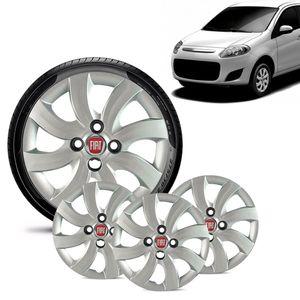 Jogo-4-Calota-Fiat-Palio-Attractive-2012-13-Aro-14-Prata-Emblema-Vermelho