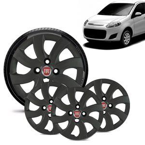 Jogo-4-Calota-Fiat-Palio-Attractive-2012-13-Aro-14-Grafite-Fosca-Emblema-Vermelho