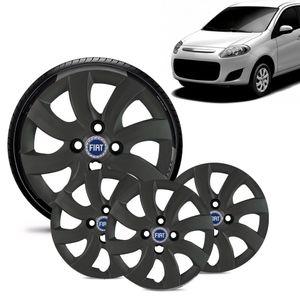 Jogo-4-Calota-Fiat-Palio-Attractive-2012-13-Aro-14-Grafite-Fosca-Emblema-Azul