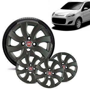 Jogo-4-Calota-Fiat-Palio-Attractive-2012-13-Aro-14-Grafite-Brilhante-Emblema-Vermelho