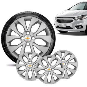 Jogo-4-Calota-Chevrolet-GM-Onix-2017-18-19-Aro-15-Prata-Emblema-Prata