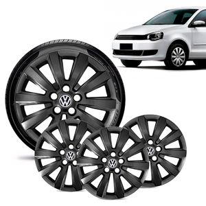 Jogo-4-Calota-Volkswagen-Vw-Polo-Aro-15-Preta-Brilhante