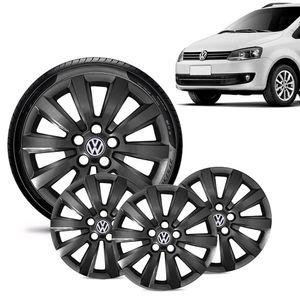 Jogo-4-Calota-Volkswagen-Vw-Fox-Aro-15-Preta-Brilhante