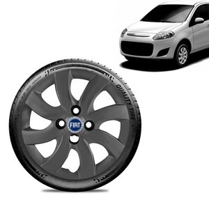Calota-Fiat-Palio-Attractive-2012-13-Aro-14-Grafite-Fosca-Emblema-Azul