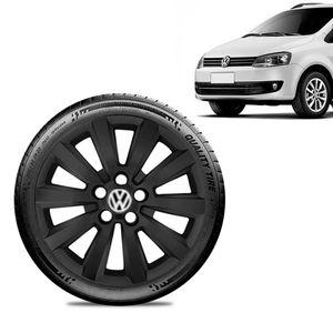 Calota-Volkswagen-Vw-SpaceFox-Aro-15-Preta-Fosca