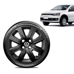 Calota-Volkswagen-Vw-Gol-2014-15-16-Aro-14-Preta-Brilhante