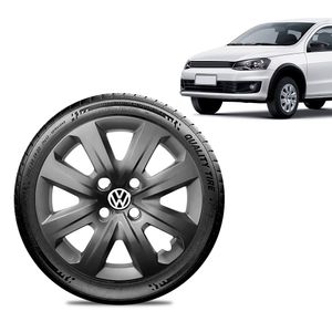 Calota-Volkswagen-Vw-Gol-2014-15-16-Aro-14-Grafite-Brilhante