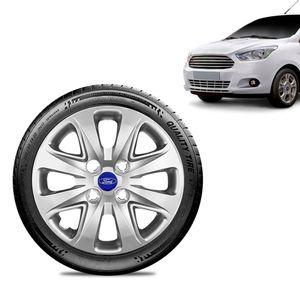 Calota-Ford-Ka---2015-16-17-18-Aro-14-Prata-Emblema-Azul