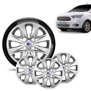 Jogo-4-Calota-Ford-Ka---2015-16-17-18-Aro-14-Prata-Emblema-Prata