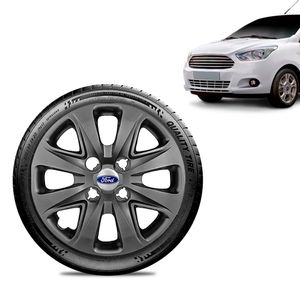 Calota-Ford-Ka-Sedan-2015-16-17-18-Aro-14-Grafite-Brilhante-Emblema-Prata