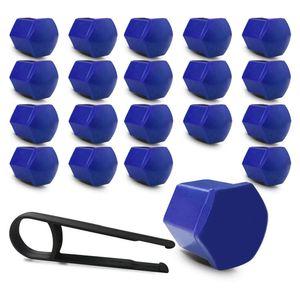 Kit-Capa-de-Parafuso-Sextavado-Chave-17-Mini-Cooper-20-pecas-Azul-A