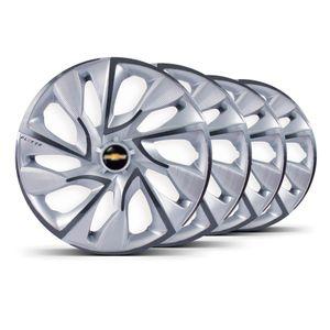Jogo-4-Calota-DS4-Aro-15-Prata-Grafite-GM-Astra-Celta-Chevette-Chevy-Classic-Cobalt-Corsa-Cruze-Ipanema-Joy-Kadett-Marajo-Meriva-Montana-Monza-Onix-Prisma-Sonic-Spin-Tigra-Agile-Aa