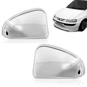 Kit-Par-Aplique-Capa-Retrovisor-Cromado-Chevrolet-GM-Celta-2000-01-02-03