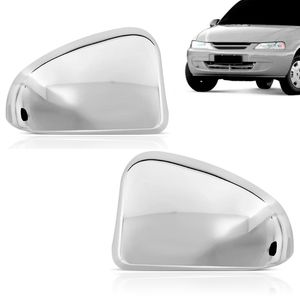 Kit-Par-Aplique-Capa-Retrovisor-Cromado-Chevrolet-GM-Celta-2004-05-06