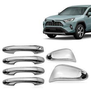 Kit-Capa-Macaneta-e-Retrovisor-Cromado-Toyota-Rav4-2016-17-18-19-20---4-Portas-1