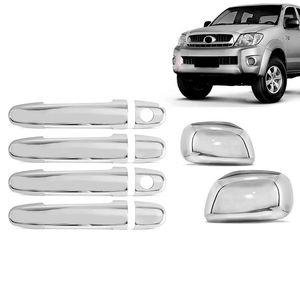 Kit-Capa-Macaneta-e-Retrovisor-Cromado-Toyota-Hilux-2008-09-10-11---4-Portas-1