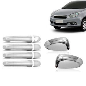 Kit-Capa-Macaneta-e-Retrovisor-Cromado-Fiat-Grand-Siena-2016-17-18-19-01