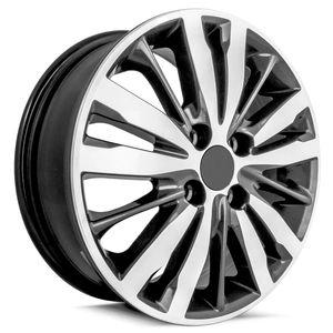 Jogo-Roda-KR-R99-Honda-Fit-Aro-15---Grafite-Diamantada
