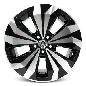 Jogo-Roda-KR-S25-VW-T-Cross-Aro-16---Preta-Diamantada