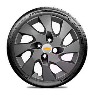 Calota-GM-Celta-Corsa-Onix-Prisma-Classic-Montana-Cobalt-Kadett-Monza-Astra-Chevelle-Chevette-Ipanema-Meriva-Sonic-Spin-Vectra-Aro-14-Grafite-Fosco-Emblema-Prata