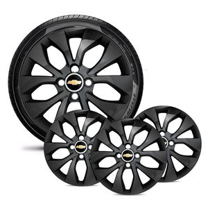 Jogo-4-Calota-GM-Celta-Corsa-Onix-Prisma-Classic-Montana-Cobalt-Kadett-Monza-Astra-Chevelle-Chevette-Ipanema-Meriva-Sonic-Spin-Vectra-Aro-15-Preto-Brilhante-Emblema-Preto