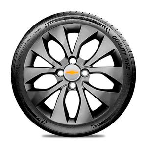 Calota-GM-Celta-Corsa-Onix-Prisma-Classic-Montana-Cobalt-Kadett-Monza-Astra-Chevelle-Chevette-Ipanema-Meriva-Sonic-Spin-Vectra-Aro-15-Grafite-Brilhante-Emblema-Prata