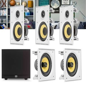 Kit-Home-Theater-5.1-JBL-Caixa-de-Embutir-CI6R---CI6S---Sub-Stage-A100P-Residencial-Gesso-01