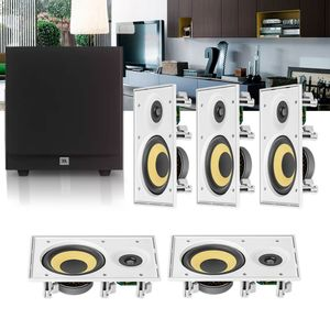 Kit-Home-Theater-5.1-JBL-Caixa-de-Embutir-CI6R---Sub-Stage-A100P-Residencial-Gesso-01