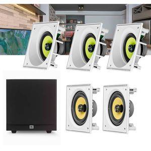 Kit-Home-Theater-5.1-JBL-Caixa-de-Embutir-CI6SA---CI6S---Sub-Stage-A100P-Residencial-Gesso-01