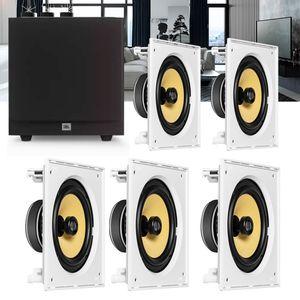 Kit-Home-Theater-5.1-JBL-Caixa-de-Embutir-CI8S---Sub-Ativo-Stage-A100P-Residencial-Gesso-01