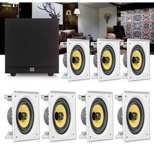 Kit-Home-Theater-7.1-JBL-Caixa-de-Embutir-CI6S---Sub-Ativo-Stage-A100P-Residencial-Gesso-01