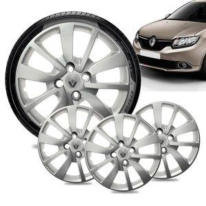 Jogo-4-Calota-Renault-Logan-Aro-15-Prata-Emblema-Prata-01