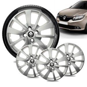 Jogo-4-Calota-Renault-Logan-Aro-15-Prata-Emblema-Preto-01